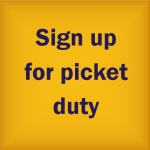 sign up for picket duty